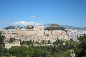 Acropolis from a nearby hill